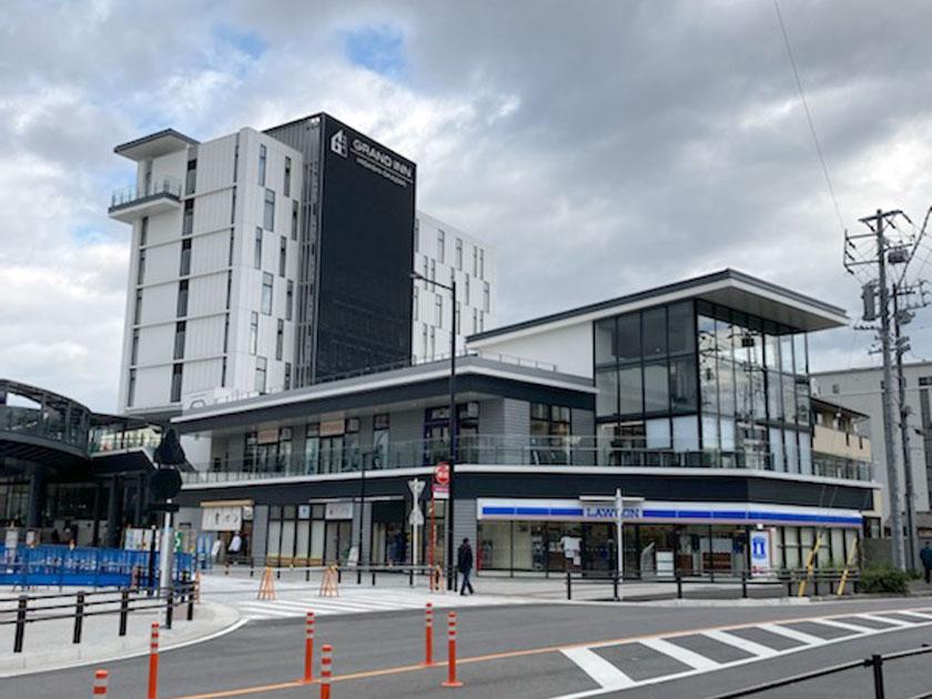 ホテル・商業施設駅前開発(岡崎市)