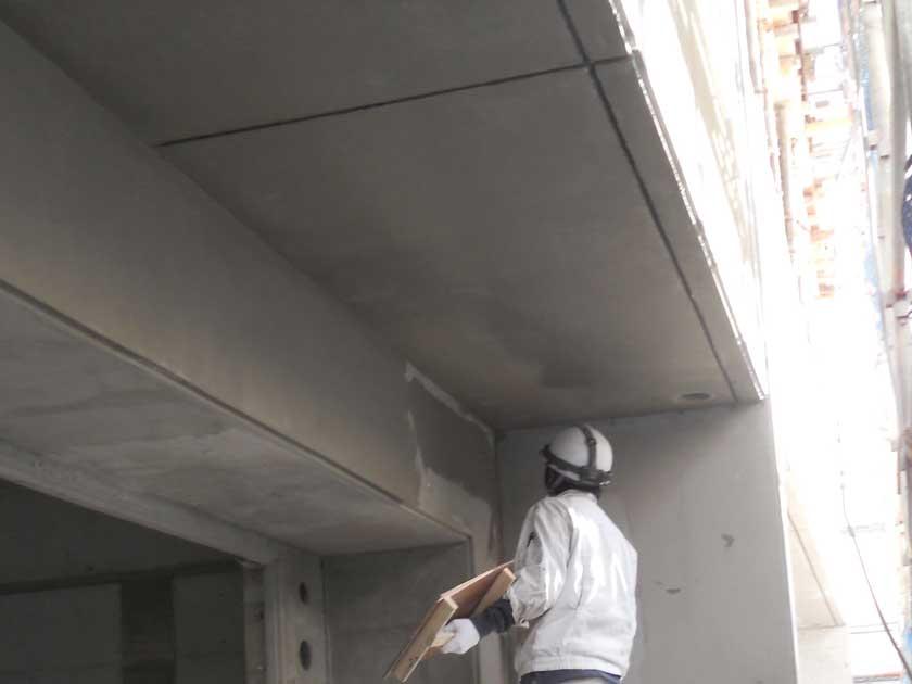 マンション外壁下地補修
